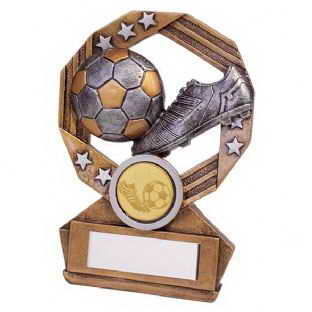 custom resin soccer trophy resin tatue resin crafts souvenir gift