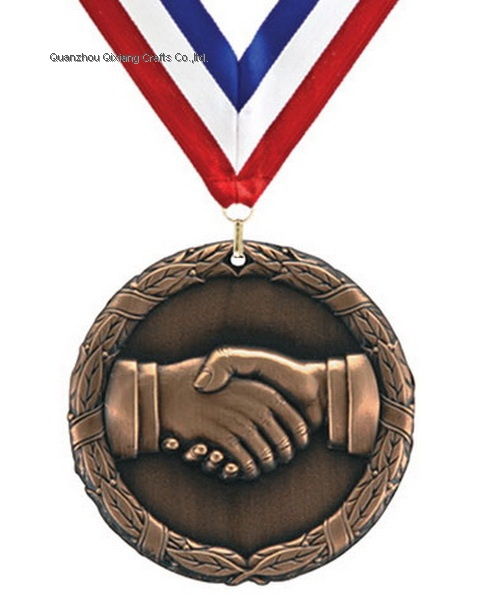 custom cooperating sport metal medal