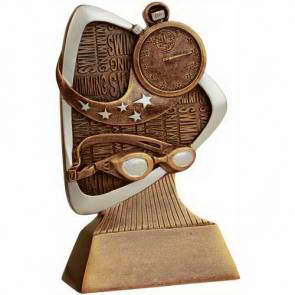 resin swimming trophy custom sport awards