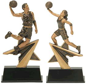resin basketball trophy custom sport awards