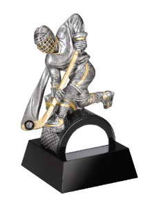 resin hockey trophy custom sport awards