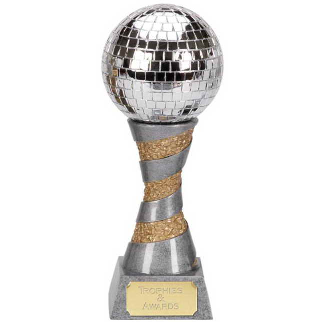 custom resin dancing sport trophy