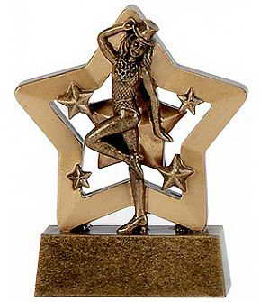 custom ballet dancing sport trophy