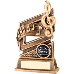 custom resin music trophy award souvenir gift