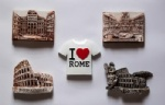 custom roma polyresin fridge magnet