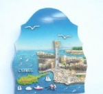 custom souvenir resin fridge magnet