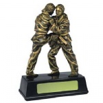 custom karate sport trophy